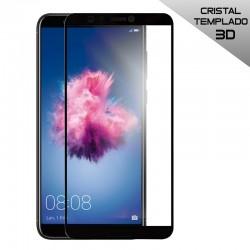 Protector Pantalla Cristal Templado Huawei P Smart (3D Negro)