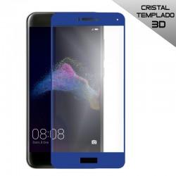 Protector Pantalla Cristal Templado Huawei P8 Lite (2017) 3D Azul