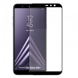 Protector Pantalla Cristal Templado Samsung A605 Galaxy A6 Plus (3D Negro)
