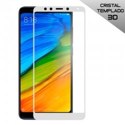 Protector Pantalla Cristal Templado Xiaomi Redmi 5 (3D Blanco)