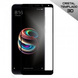 Protector Pantalla Cristal Templado Xiaomi Redmi 5 Plus (3D Negro)