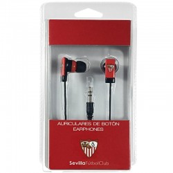 Auriculares 3,5 mm Stereo Licencia Fútbol Sevilla F.C.
