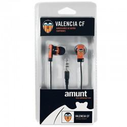 Auriculares 3,5 mm Stereo Licencia Fútbol Valencia C.F.