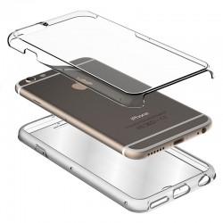 Funda Silicona 3D Huawei P8 Lite (2017) (Transparente Frontal + Trasera)